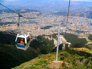 Quito's Cable Car
